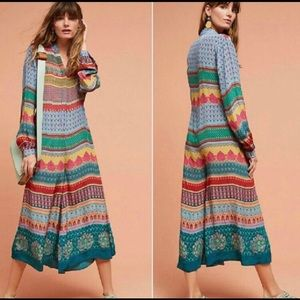 Anthropologie Dresses Leifnotes Scattered Stellata Dress
